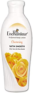Enchanteur Charming Perfumed Body Lotion, 250ml, with Aloe Vera & Olive Butter for Satin Smooth Skin