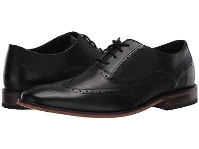 Bostonian Lamont Wing (Black Leather) Men