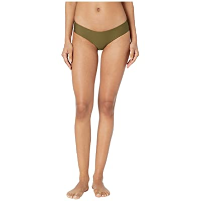 Hurley Quick Dry Hipster Surf Bottoms (Olive Canvas) Women