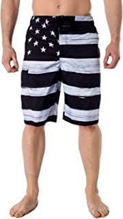 Men's Surf Swim Board Shorts with Lining