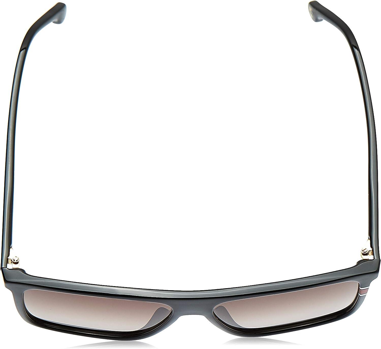 Carrera 172/S Sunglasses CA172S-0807-HA-5814 - Black Frame, Brown Gradient Lenses, Lens Diameter