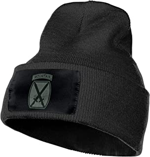 Zml0pping US Army Retro 10th Mountain Division Unisex Hat