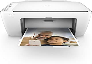 HP DeskJet 2655 All-in-One Compact Printer, HP Instant Ink & Amazon Dash Replenishment Ready - White (V1N04A) - (Renewed)