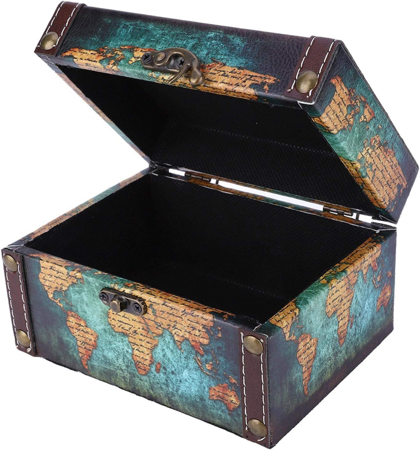 Aoutecen Jewelry Treasure Chest Desktop Wood Ornaments M Box for Ranking TOP7 Super Special SALE held