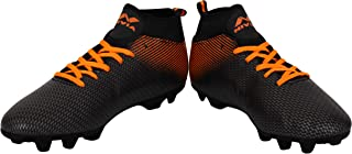 Nivia 454O Synthetic Pro Carbonite Mens Football Stud (Orange)