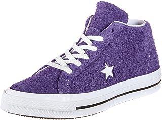 [コンバース] ONE STAR MID ワンスターミドルカット 紫