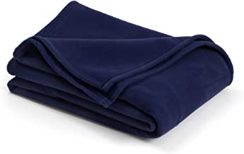 The Original Vellux Blanket - King, Soft, Warm, Insulated, Pet-Friendly, Home Bed & Sofa - Navy