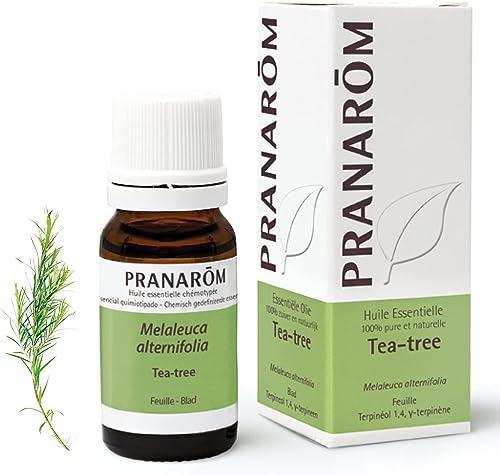 Pranarôm | Huile Essentielle Tea Tree | Arbre à Thé | Melaleuca Alternifolia | HECT | 10 ml