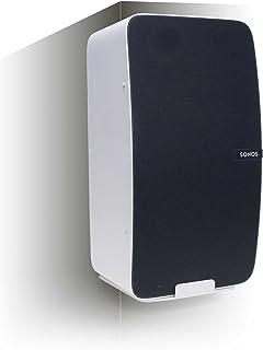 Vebos hörn väggfäste Sonos Play 5 gen 2 vit – vertikalt och optimalt ljud i varje rum – kompatibel med SONOS PLAY:5