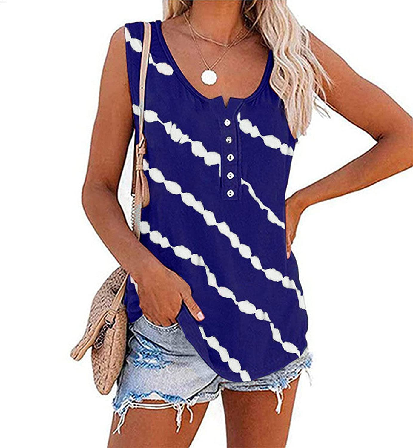 Womens Tank Tops,Floral Tops Special price Sunflowe Japan's largest assortment for O-Neck Women
