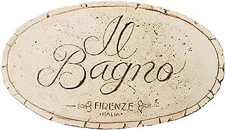 Italian Bathroom Plaque Il Bagno