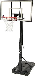 Spalding 68395W NBA Portable Basketball Hoop with 54 Inch Polycarbonate Backboard