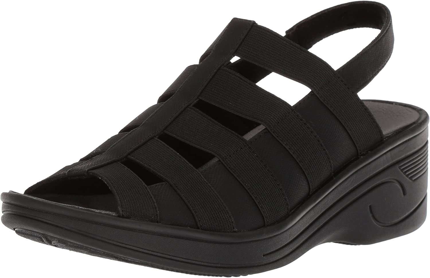 Easy Street Womens Floaty Wedge Sandal