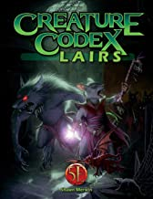Creature Codex Lairs for 5th Edition (Volume 3)