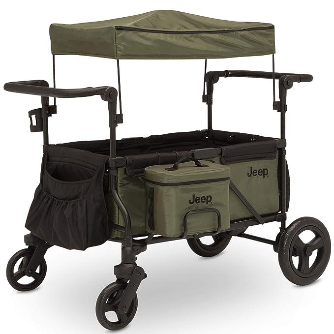 Delta Children Jeep Deluxe Wrangler Stroller Wagon - Most Comfortable