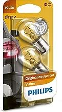 Philips 12499B2 Vision - Bombilla P21/5W para indicadores (2 unidades)