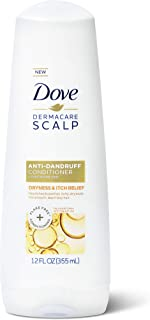 Dove DermaCare Scalp Anti-Dandruff Conditioner Dry and Itchy Scalp Dryness and Itch Relief with Pyrithione Zinc 12 oz