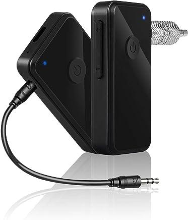 EERTX Transmetteur FM Bluetooth Noir Kit Voiture Lecteur MP3 MP3 Bluetooth Universel Chargeur USB Adaptateur Radio Interface AUX