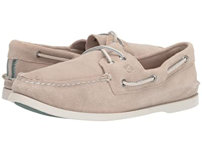 Sperry A/O 2-Eye Suede (Cement) Men