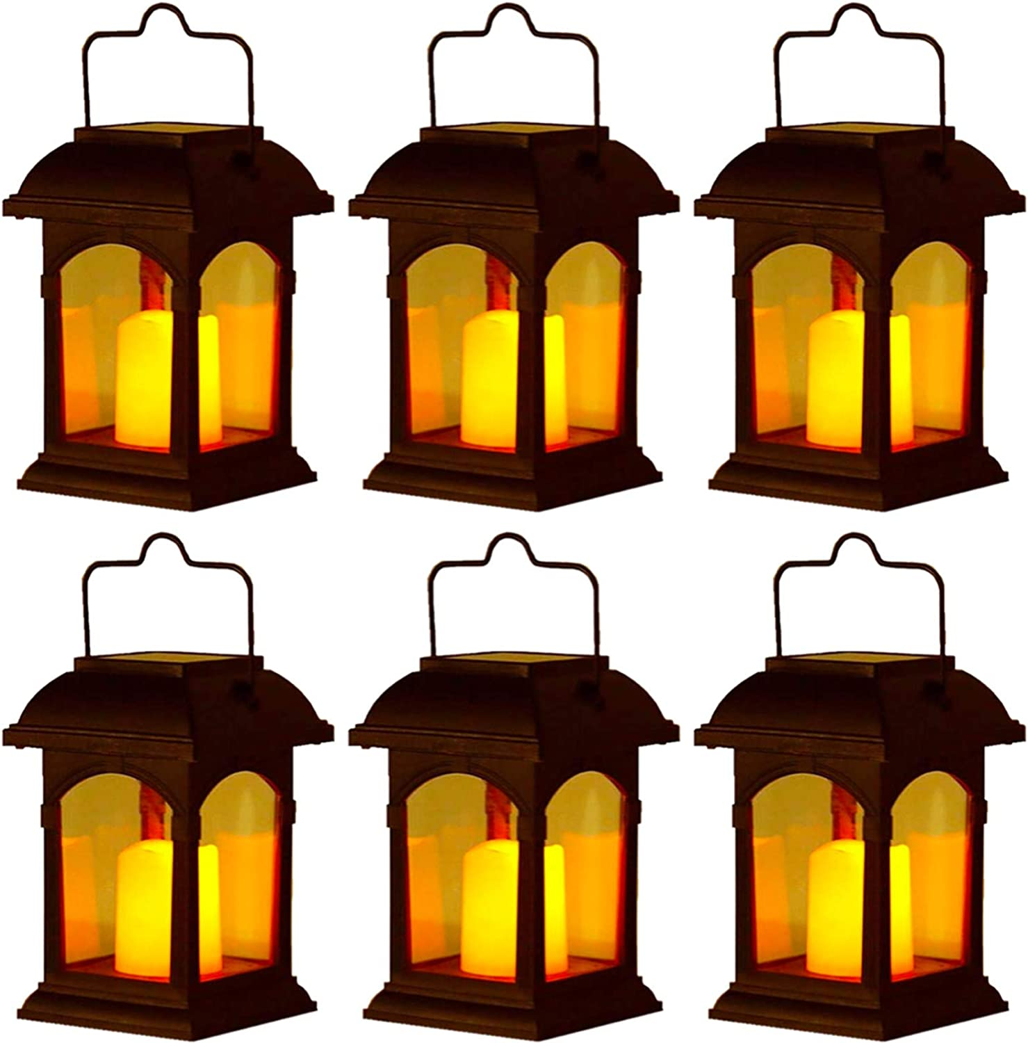 Translated Clihere Solar Lantern Outdoor Hanging E Retro Candle Discount is also underway Flickering