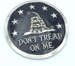 Don't t Tread on me Gadsden flag Grille badge American flag emblem for car truck grill mount metal