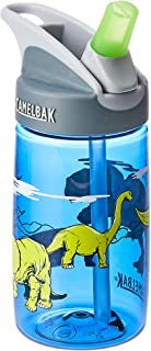 CamelBak Eddy Kids Water Bottles, T-Rex, 400mL