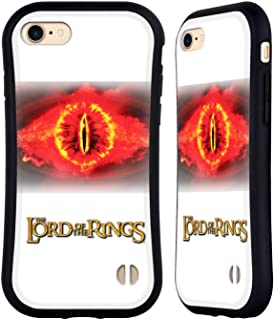 Official The Lord of The Rings: The Two Towers Eye of Sauron Character Art Hybrid Case Compatible for iPhone 7 / iPhone 8