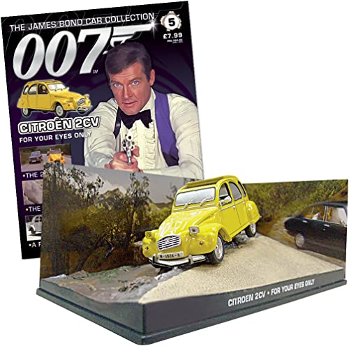 007 James Bond Car Collection  5 Citro 2CV