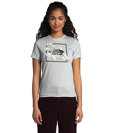The North Face Himalayan Bottle Source Short Sleeve Tee (Tin Grey) Women