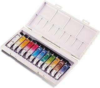 Sennelier La Petite Aquarelle Watercolor Set, 12 10ML Paint Tubes, Multicolor