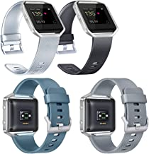 Vancle Replacement Bands Compatible with Fitbit Blaze, Not Included Fitbit Blaze and Frame