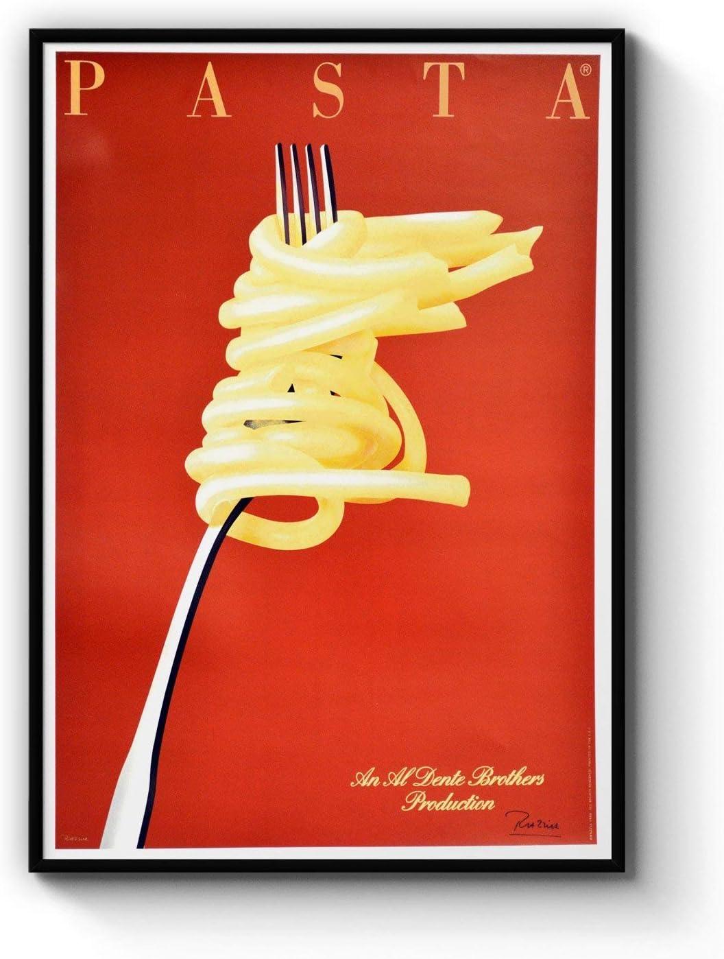 Popular product Italian Pasta Wall Art Cheap Print