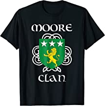 Moore Family Crest Shirt, Irish Reunion T Shirt