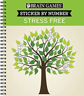 Brain Games - Sticker by Number: Stress Free