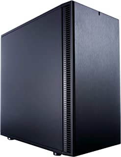 Fractal Design Define Mini C Mini-Tower Negro Carcasa de Ordenador - Caja de Ordenador (Mini-Tower, PC, ITX,Micro-ATX, Negro, Juego, 17 cm)