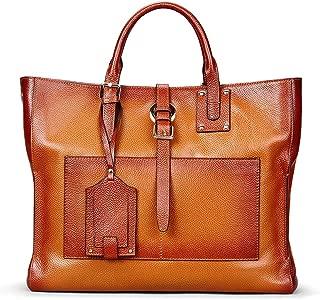 Handbag Shoulder Bag Women's Leather Bag Soft Surface Buckle Buckle Ladies Crossbody Bag(FM)