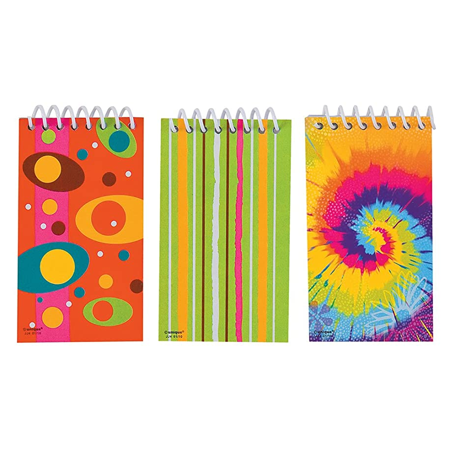 Mini Spiral Notebook Party Favors, Assorted 6ct