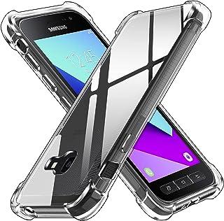 ivoler Coque pour Samsung Galaxy Xcover 4 / Xcover 4s, Ultra Transparent Étui de Protection en Silicone Antichoc avec Coin...
