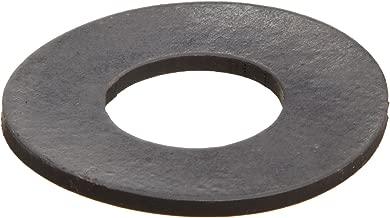 Viton Fluoroelastomer Flange Gasket, Ring, Black, Fits Class 150 Flange, 1/8