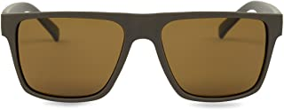 MAX & MILLER Men's Polarized Sunglasses UV400 Protection BILLBOARD (Brown, Brown)