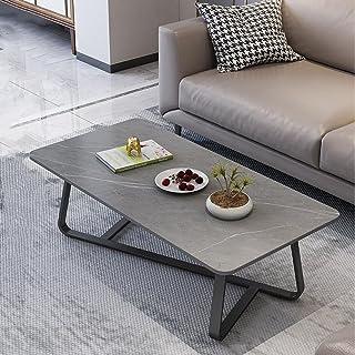CJDM Table Basse Simple, Petit Salon Moderne de Luxe léger, canapé créatif en marbre Simple, Table Basse, Table Basse