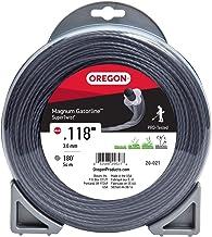 Oregon 20-021 Super-Twist Magnum Gatorline String Trimmer Line, .118-Inch 1-Pound Donut