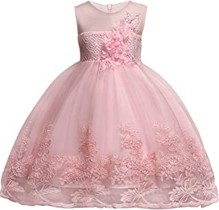 Surprise S Girl Dress for Wedding Party Embroidery Gold Sequins Flowers Princess Girls Dresses Girl Ball Gown Dresses