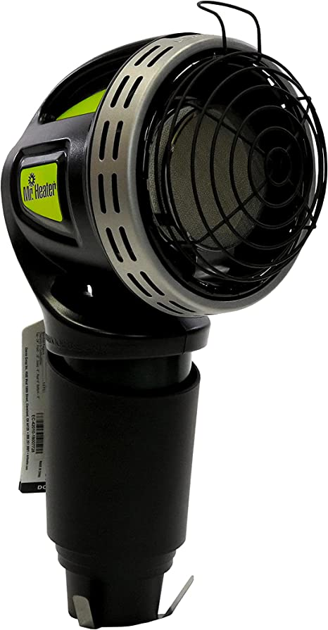 Mr. Heater F242010 MH4GC Golf Cart Heater,Silver and Black: image