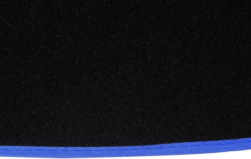 Connected Essentials CEM550 Car Mat Set for Sportage 5 mm Rubber Black with Black Trim 2009-2010