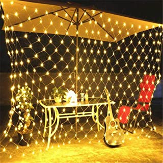 مصابيح جنية، 3x2 م 200 مصباح شبكة LED، سلسلة المصابيح القابلة للتوصيل، سلك نحاسي مرن إضاءة اليراع للفتيات / الأولاد ، جدار...
