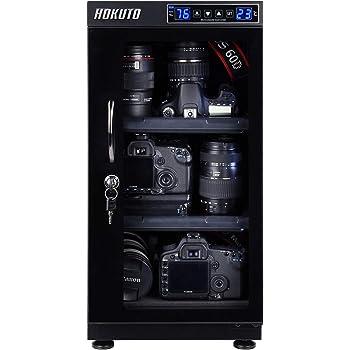 HOKUTO 防湿庫・ドライボックス HBシリーズ 50L 5年保証(50Lタッチスクリーン/LED)