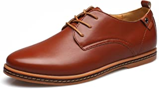 [ONE MAX] カジュアルシューズ アウトステッチシューズ 革靴 メンズ 大きいサイズ レザー レースアップシューズ ビジネス おしゃれ ローファー 紳士靴 通気性