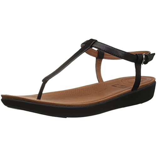 e243c1330a7fb Fitflop Women s Tia Toe-Thong Sandals - Leather Open