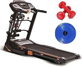 Fitness Minutes Treadmill device, Black, 6068-D